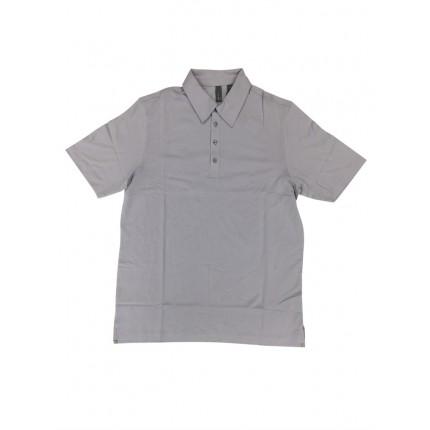 Ashworth Golf Mens Lilac Solid Polo Shirt
