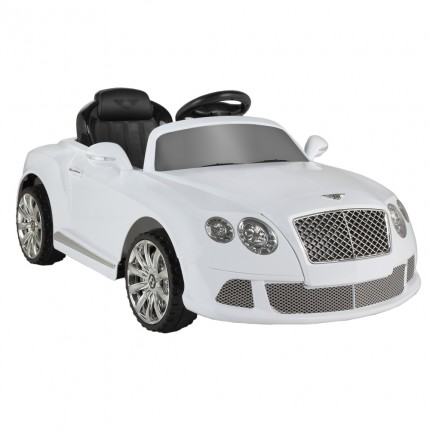 EX-DEMO Bentley Continental GTC by ZAAP Ride-On Car White
