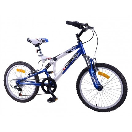 "Ex-Demo Woodworm Kids BXI Junior 20"" Mountain Bike Blue"