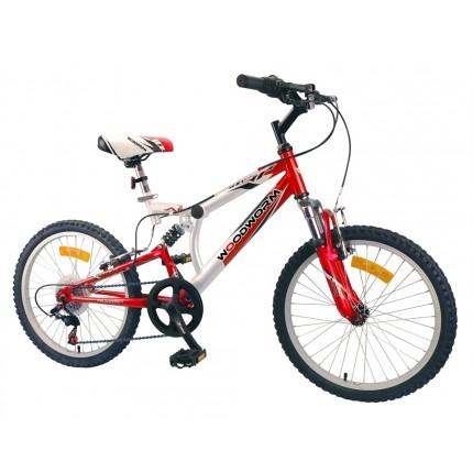 """Ex-Demo Woodworm Kids BXI Junior 20"""" Mountain Bike Red"""