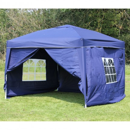 EX-DEMO Palm Springs 3x3m (10x10ft) Pop Up Gazebo + Sides