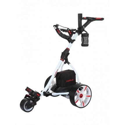 Caddymatic V1 Electric Golf Trolley -Wht + FreeBag