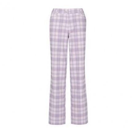 Callaway Ladies Dagmar Plaid Trousers