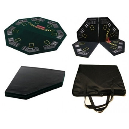 CQ Poker 4 Fold Quality Table Top