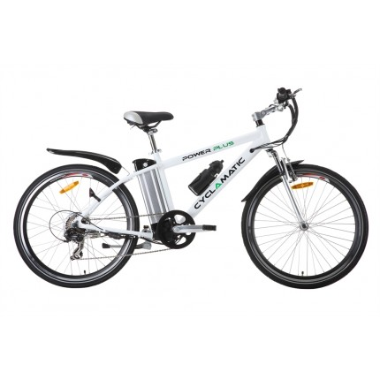 Ex-Demo Cyclamatic Power Plus Electric Bike White