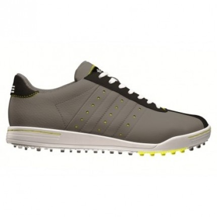 Adidas Adicross II WD Golf Shoes - Iron / Yellow