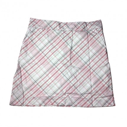 Ashworth Ladies Checkered Skort