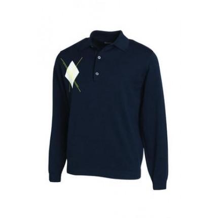 Ashworth Long Sleeve Merino Polo
