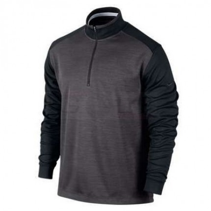 Nike Golf Dri-Fit 1/2-Zip Cover-Up Black