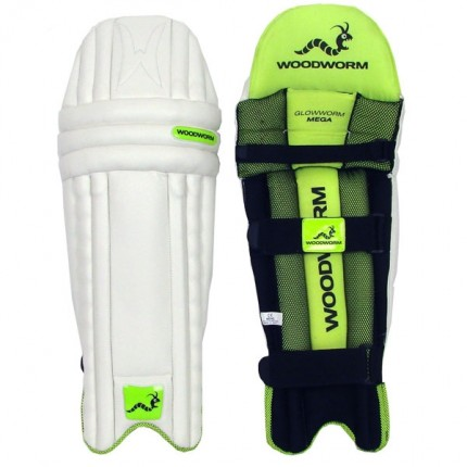 Woodworm Cricket Glowworm Mega Junior Batting Pads