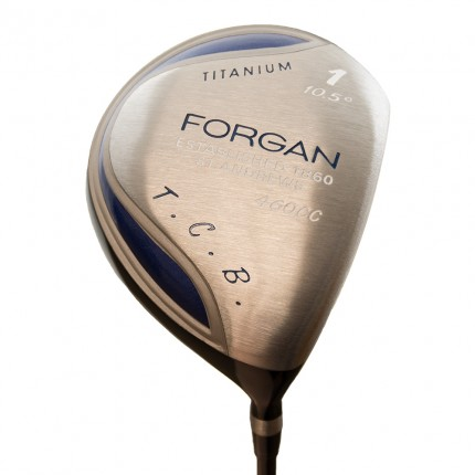 Forgan of St Andrews TCB Pure Titanium 460cc Driver