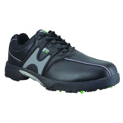 Forgan Mens Waterproof Golf Shoes - Black