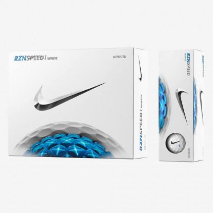 6 x 12 Nike RZN Speed White Golf Balls