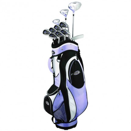 GolfGirl FWS2 Golf Clubs Package Set + Bag - Lilac