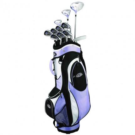 GolfGirl FWS2 Golf Clubs Package Set + Bag - Lilac