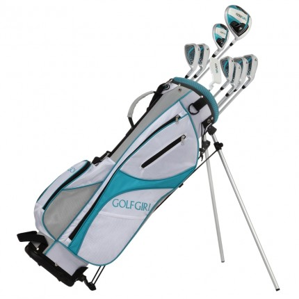 GolfGirl FWS3 Ladies Complete All Graphite Golf Clubs Set with Stand Bag Lefty