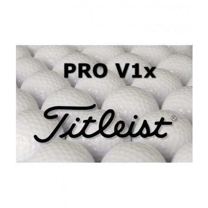 12 Titleist Pro V1x Refinished Lake Balls