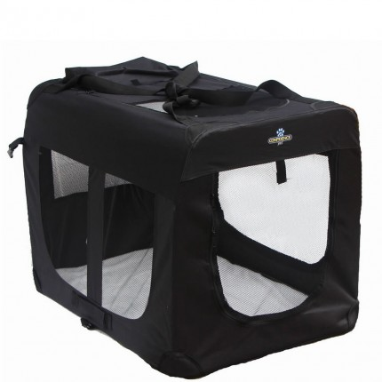 Confidence Pet Portable Folding Soft Dog Crate - Large