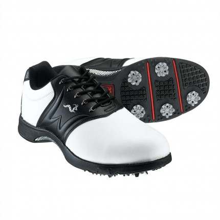 Woodworm Golf Player Golf Shoes - White