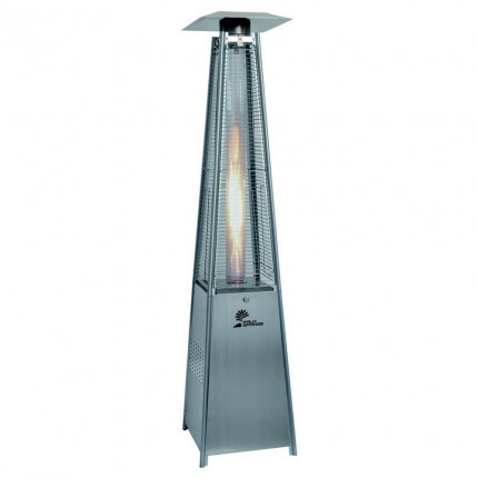 Palm Springs Pyramid Tube Flame Patio Heater