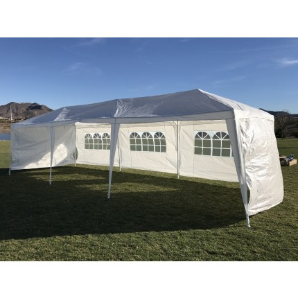 EX-DEMO Palm Springs 3M x 9M Party Tent Marquee w/ 5 Panels
