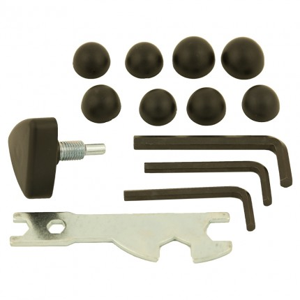 Confidence Fitness Elliptical Tool and Bolt Caps Kit