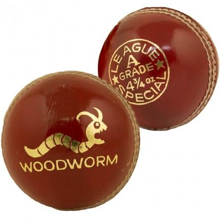 6 x Woodworm Junior Special 4 3/4oz Cricket Balls