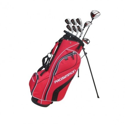 Prosimmon V7 Golf Package Set 1 Inch Longer- Red