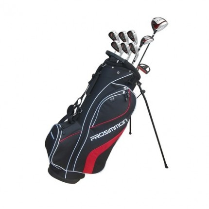 Prosimmon V7 Golf Set Graph/Steel Reg MRH Black-1 (Golf Sets)