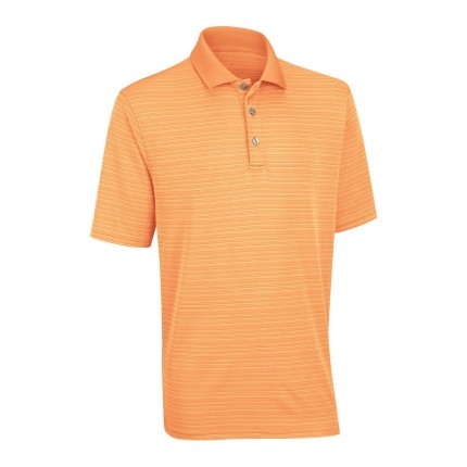 Ashworth Performance Shadow Stripe Polo Shirt