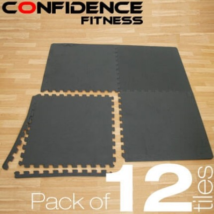 Confidence EVA Floor Mat / Guards V2 - 12 Tiles