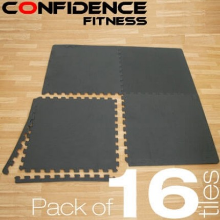 Confidence EVA Floor Mat / Guards - 16 Tiles