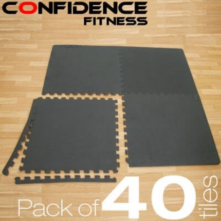 Confidence EVA Floor Mat / Guards V2 - 40 Tiles
