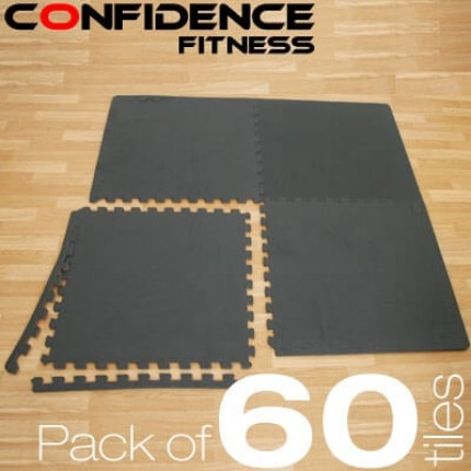 Confidence EVA Floor Mat / Guards - 60 Tiles