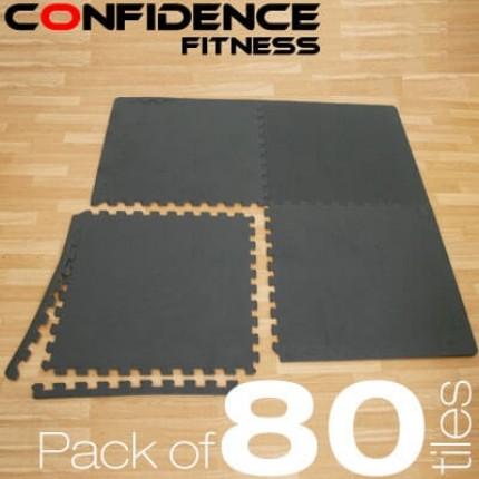 Confidence EVA Floor Mat / Guards - 80 Tiles