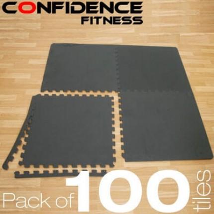 Confidence EVA Floor Mat / Guards V2 - 100 Tiles