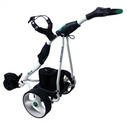 Stowamatic GXT Electric Golf Trolley WHT