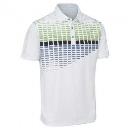 Stuburt 2018 Endurance Block Polo Shirt White Green