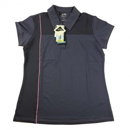 Adidas Womens ClimaCool Mesh Block Polo
