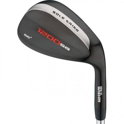 Wilson Golf 1200 Sole Grind Black Wedge