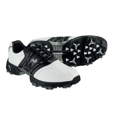 Woodworm Golf Tour Golf Shoes White / Black