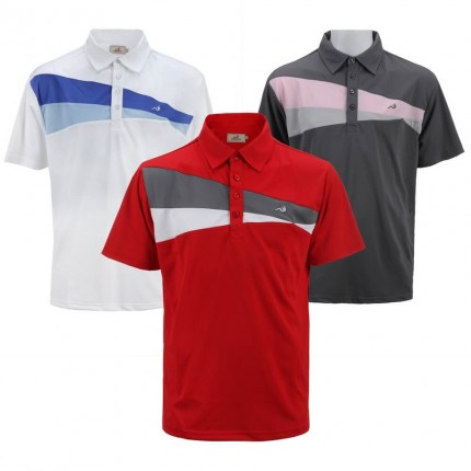 Woodworm Performance Wedge Polo 3 Pack
