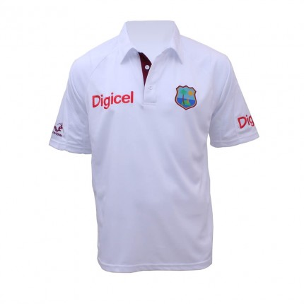 West Indies Replica Test Shirt