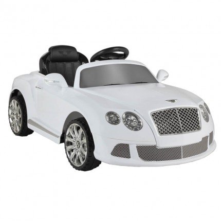 Bentley Continental GTC by ZAAP Ride-On Car White