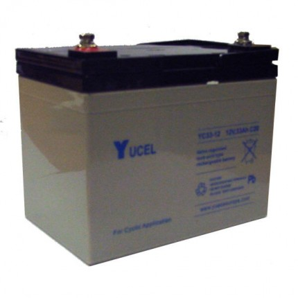 Yuasa YC Series Golf Trolley Batteries 36 Hole