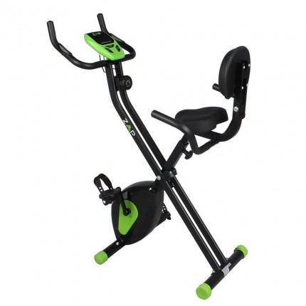 EX-DEMO ZAAP Fitness Folding Recumbent Upright Exercise Bike