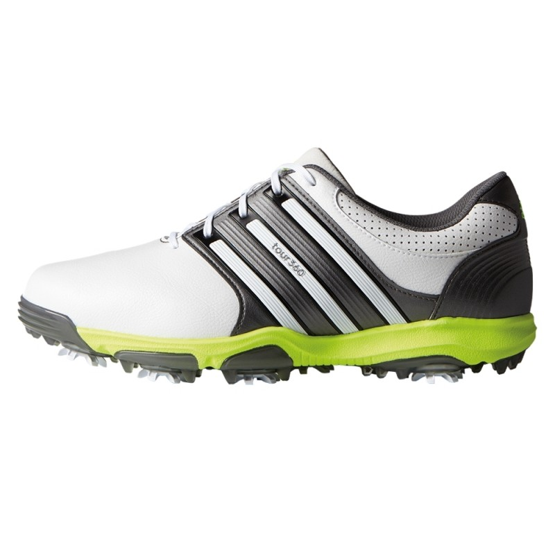 Adidas Tour 360 X WD Golf Shoes White / Dark Silver
