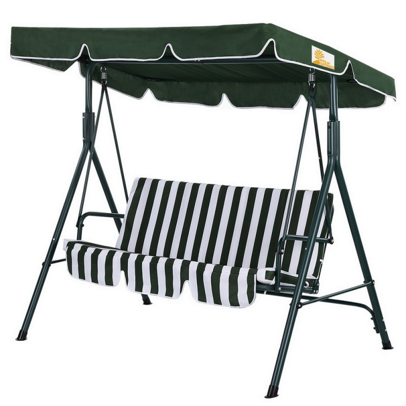 Palm Springs Garden 3 Seater Hammock Swing Chair