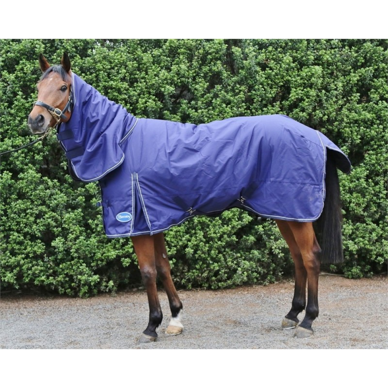 Barnsby 600D Equestrian Waterproof Horse Winter Blanket / Turnout Rug With Neck Combo