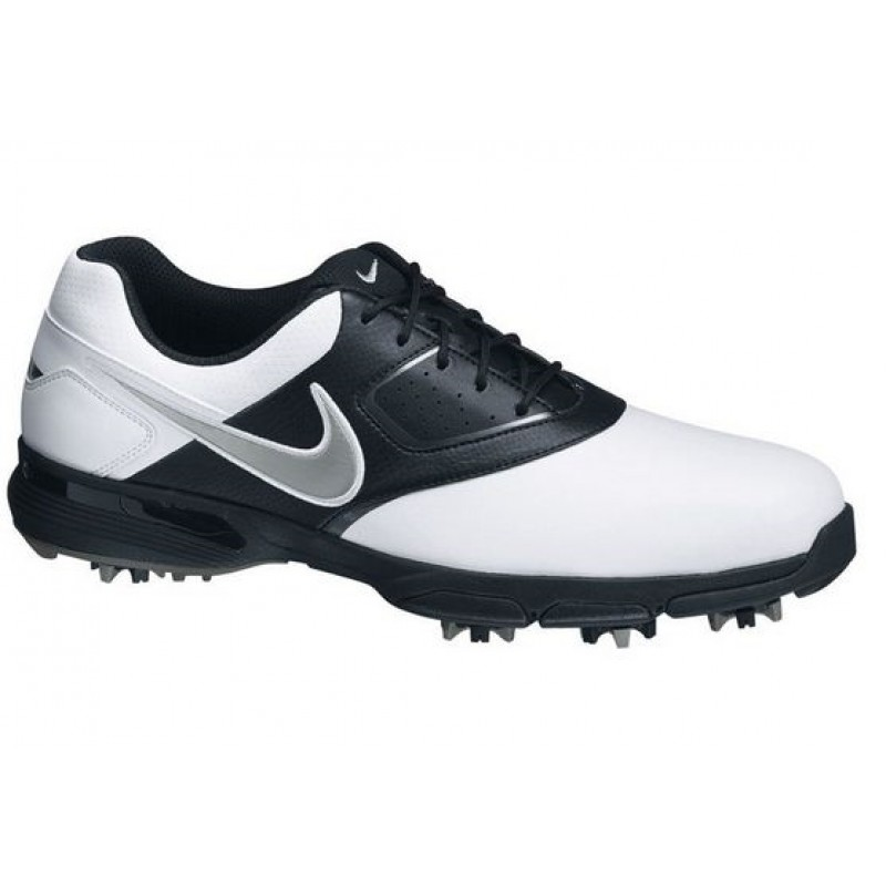 Nike Golf Heritage Golf Shoes WHITE/BLACK